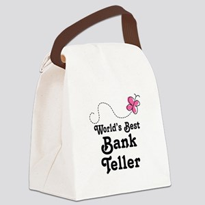 Bank Teller (Worlds Best) Canvas Lunch Bag